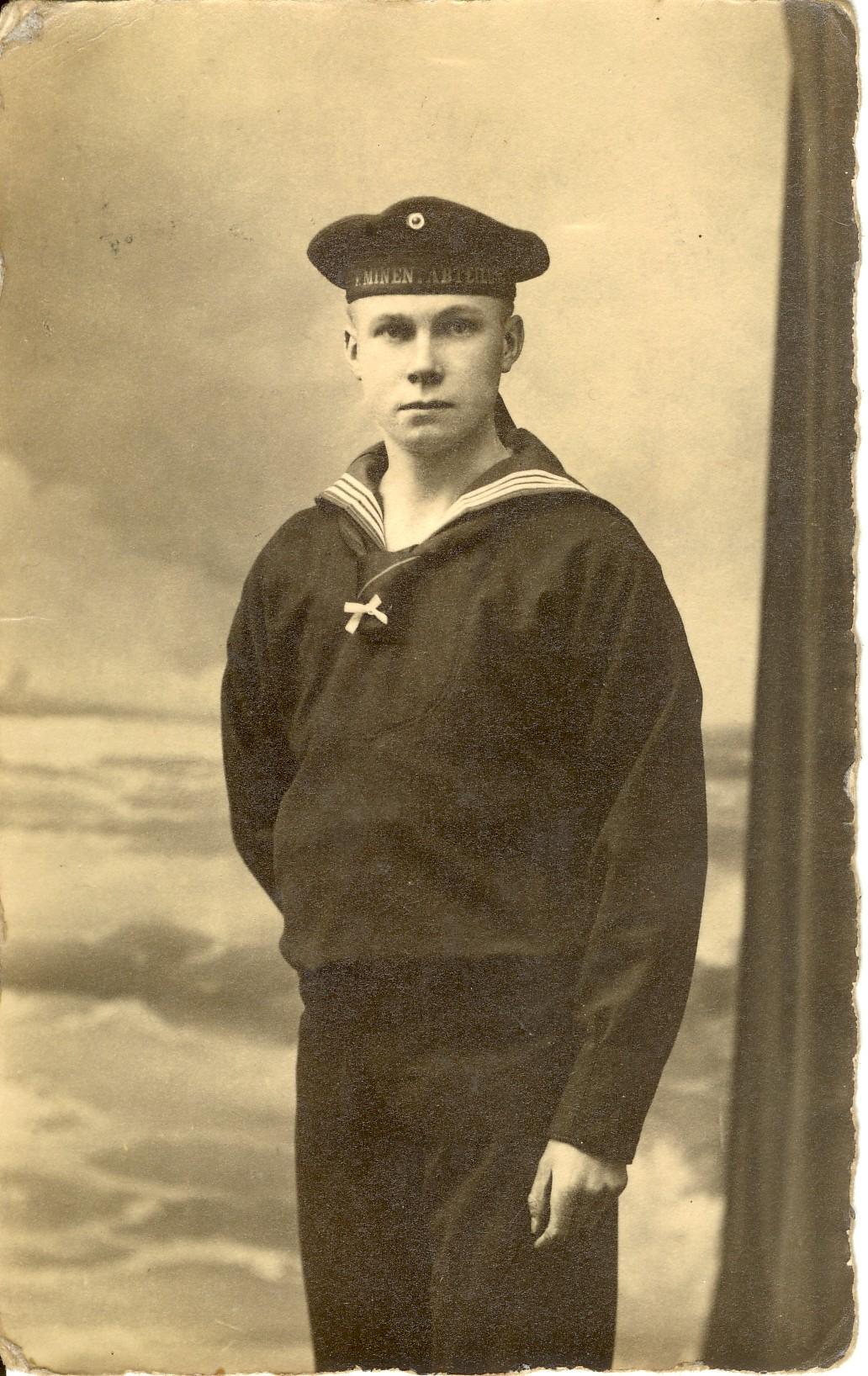 FD 1917 als Marinesoldat