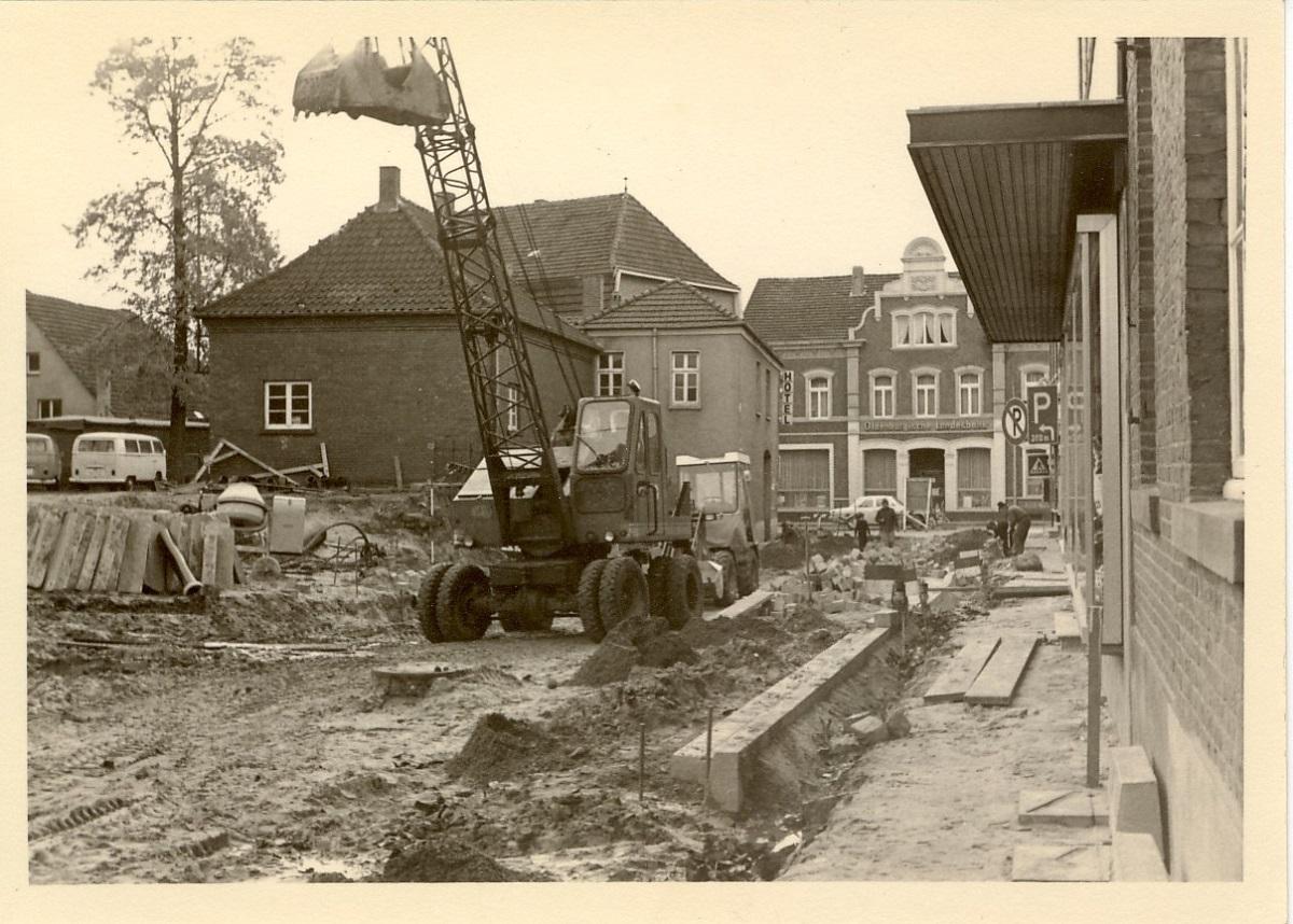 Ausbau der Mühlenstraße 1970
