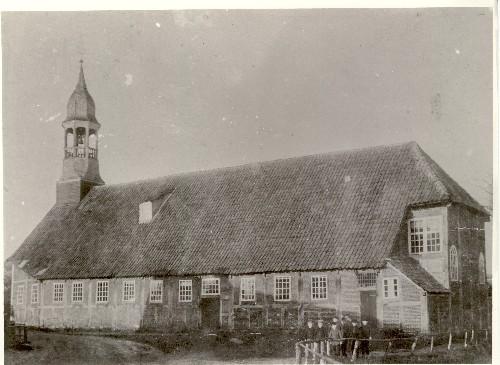 Notkirche um 1890