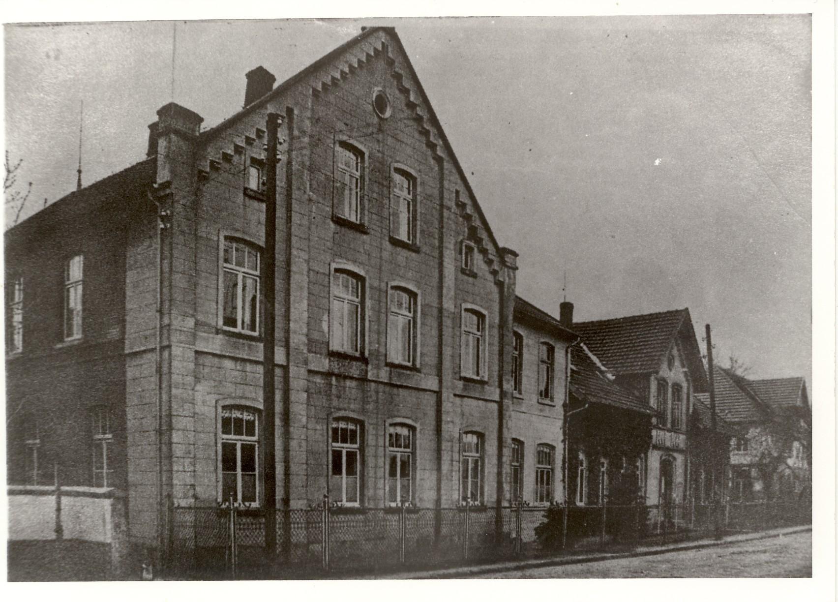 Internatsgebäude in der Bahnhofsstraße