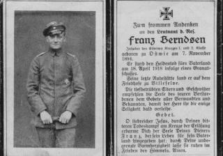 Berndsen I 35 Totenzettel